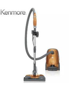Kenmore 81214 200 Series Pet Friendly Bagged Canister Vacuum with HEPA Orange
