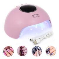36W Nail Art USB Nail Lamp UV12 LED Light Nail Gel Dryer Curing Polish Machine