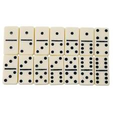 28 Piece Mini Dominoes Dominos Set w/ Travel Storage Wooden Box Case B