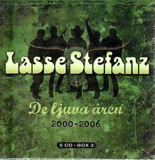 5 CD Box LASSE STEFANZ,De ljuva åren 2000-2006,Schweden