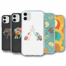 Funda de silicona para iPhone 11 Elefante Colección 4