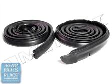 1967-69 Plymouth Barracuda Roofrail Weatherstrip Seal Pair - RR4001D
