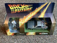 Corgi CC05501 Back To The Future Delorean & Doc Brown Metal Figure 2001