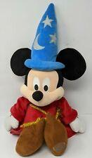 New listing Disney Store Sorcerer Magic Fantasia Mickey Mouse Plush Medium 24� Wizard Toy