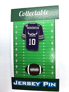 Minnesota Vikings Fran Tarkenton jersey lapel pin-Classic Collectible-Skol Cool