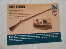 Long Fowler Gun Classic Firearms PHOTO CARD from Atlas