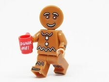 Gingerbread Man Custom Fairy tale Mini Figure Unbranded Fit Lego UK Seller