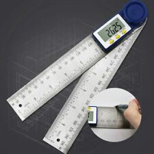 Digital Angle Finder Protractor Ruler Meter 200mm Inclinometer Goniometer Level