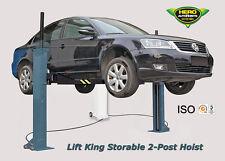 2 Post Storable Car Lift / Service Hoist / Car Hoist / ATV & Motorcycle Lift