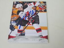 NICK PALMIERI AUTOGRAPHED 2011-2012 UPPER DECK HOCKEY CARD