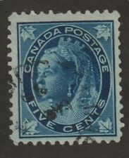"Canada 1897 #70 Queen Victoria ""Maple Leaf"" Issue - F Used"