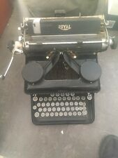 Royal Type Writer Vintage H-1803192 Black