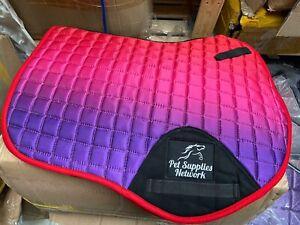 Numnah Ombre jumping saddle pad Full COB Pony UK stock