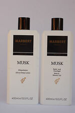 MARBERT Body Care MUSK Duschgel & Lotion Sparset 2 x 400 ml