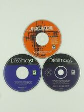 Dreamcast Magazine Demos Lot of 3 Games Authentic Original Cleaned Tested Sega