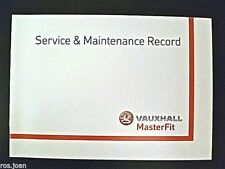 Vauxhall Vectra NEW Service Book History Record Brand New Genuine Freepost