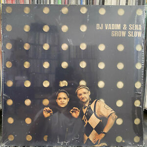 DJ VADIM & SENA - GROW SLOW (VINYL 2LP)  2015!!!  RARE!!!  SEALED!!!