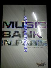 Music Bank in Paris Live Concert DVD Promo New Beast Girls' Generation Shinee