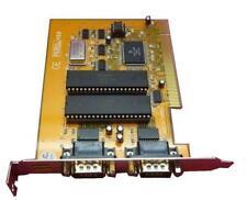 SIIG P004-64 Dual Serial Port PCI Interface Card GRA 81