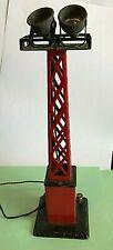 Vintage 1930/40 Train Layout Metal Electric Flood Light Tower