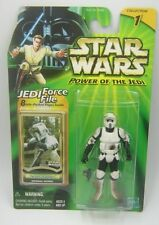 """Star Wars Power of the Jedi Hasbro Clean Variant IMPERIAL BIKER SCOUT /""""ROTJ/"""""""
