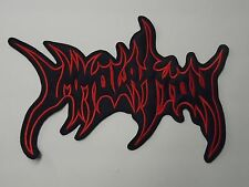 IMMOLATION DEATH METAL EMBROIDERED BACK PATCH