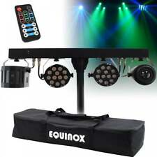 More details for equinox moonflower derby fx bar wireless lighting effect led par can wash light