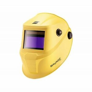 ESAB Savage A40 Welding Helmet Package - Yellow + FREE P&P