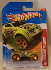 Hot Wheels 2012 Thrill Racers -Swamp Rally '12 Mitsubishi Pajero Evolution EVO