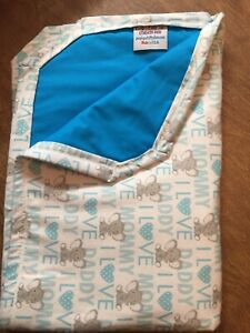 Waterproof Washable Reusable Baby Changing Pad Floor Mat Bed Crib Liner 22x34