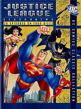 Justice League of America - Season 2 - 26 Episode on 4 Discs - Region 1- NEW