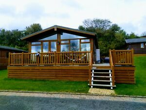 Holiday lodge for sale near Benllech, Anglesey