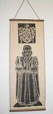 Smithson England 1592 Brass Rubbing Museum Print Walter Bailey Wall Hang Scroll
