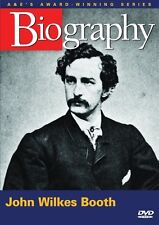 BIOGRAPHY - JOHN WILKES BOOTH (A&E DOCUMENTARY) NEW AND SEALED