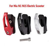Para Niu N1 N1S Patinete Eléctrico Hanging Bag Claw Hanger Gadget Gancho Metal