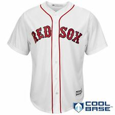 ec760a714a9 Majestic Athletic Boston Red Sox 2015 Cool Base Home Jersey Large