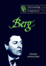 The Cambridge Companion to Berg (Cambridge Companions to Music) by Pople, Antho