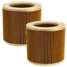 2x Lamellen Filterpatrone Filter Ersatz f. Kärcher SE 4001, SE 4002, 6.414-552.0