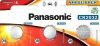 3 x Panasonic® CR2032 3V Lithium Coin Cell Button Battery DL/BR 2032 Expiry 2029