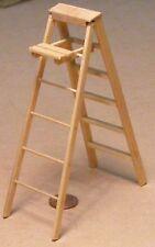 SCALA 1:12 finitura naturale grande pieghevole in legno SCALA A LIBRETTO accessorio casa delle bambole