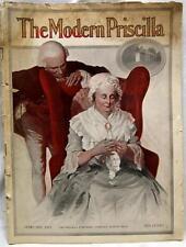 THE MODERN PRISCILLA MAGAZINE FEBRUARY 1911 VINTAGE WOMEN'S INTEREST FASHIONS