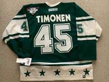 Rare 2004  Western All Star Jersey size 56 Done up with Kimmo Timonen