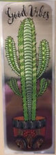 CACTUS wall sticker 1 big FOIL decal kitchen decor southwest plant Good Vibes