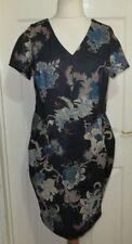 George V-Neck All Seasons Dresses for Women