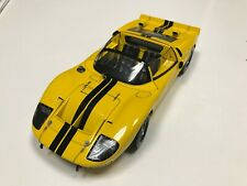 EXOTO 1:18 1966 Exoto Ford GT40 Mk II Cod RLG19046 Roadster Authentic Yellow