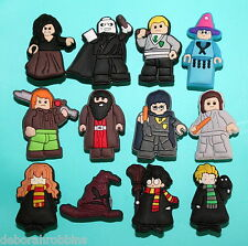 Harry Potter Cake Decorations 12 Cupcake Toppers Party Favours Shoe Charms NEW