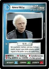 Star Trek CCG Introductory 2 Player Game Admiral McCoy