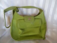 Vintage - Fossil Light Green Leather Small Handbag/Purse - Perfect Condition