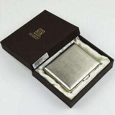 Brushed copper pocket cigarette box case holder cigar tobacco case holder,CC03