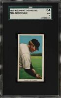 Very Rare 1909-11 T206 Clyde Engle Piedmont 350 New York SGC 7 NM None Higher!